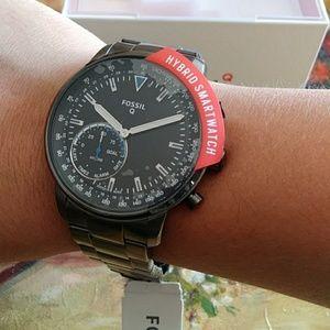 Fossil Men Hybrid Smartwatch Watch Stainless Steel
